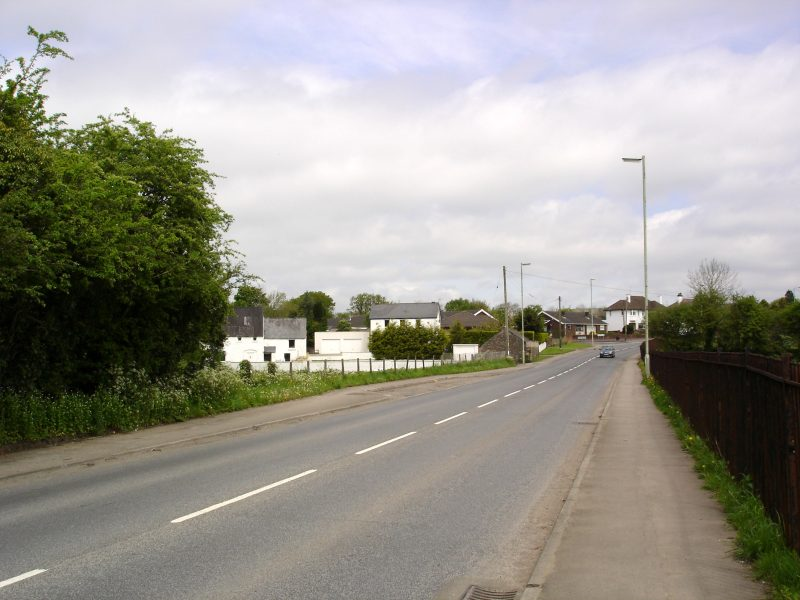 Cowbridge Road by Pontyclun park