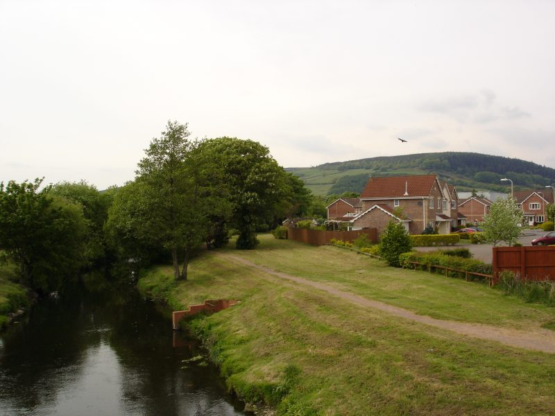 View of river at Pany y Derwen