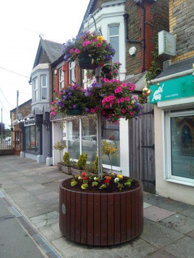 Community floral arrangement