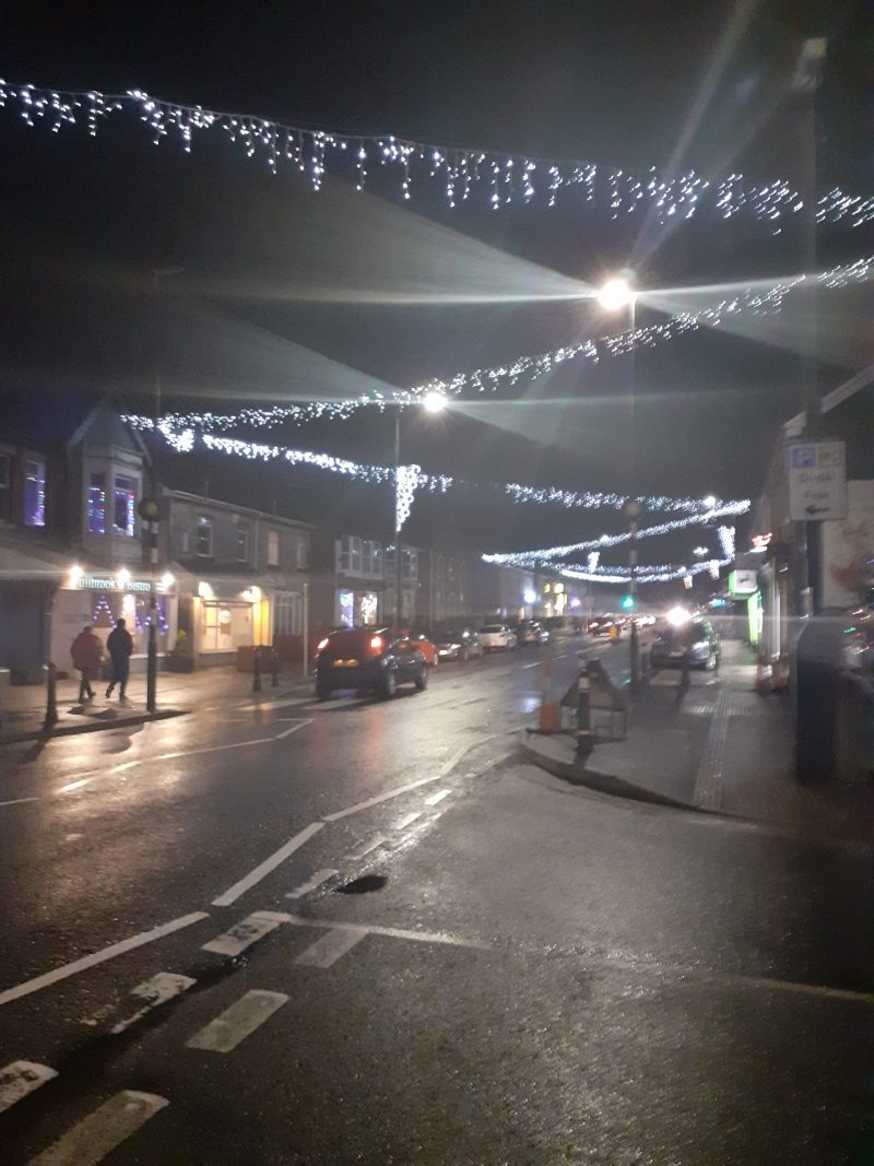 Pontyclun Christmas lights