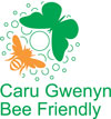 Bee friendly logo