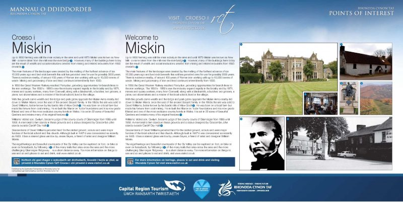 Miskin information panel