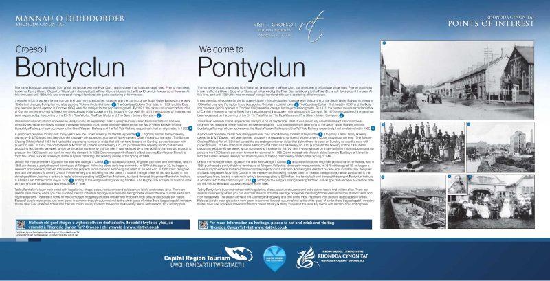 Pontyclun Historical information