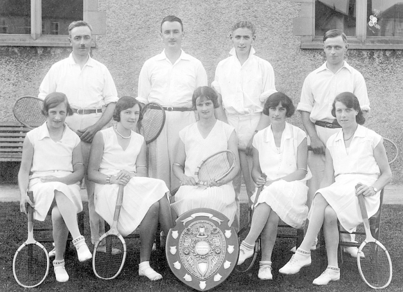 Pontyclun Institute tennis club 1930