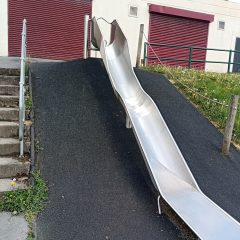 Large slide at Windsor fields