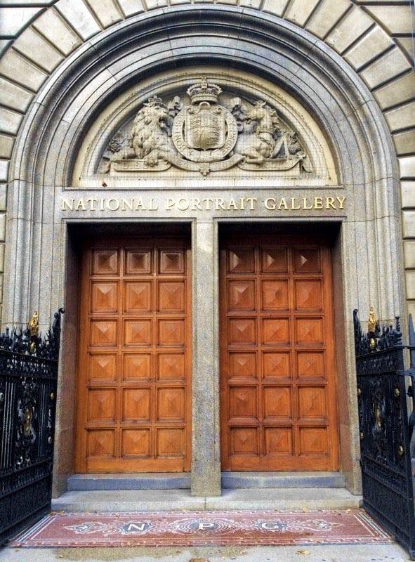 An example of a Museum door