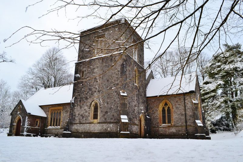 St Anne's church Talygarn